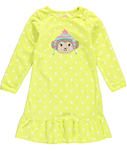 Carter'S Fleece Polka Dot Nightgown (8-10, Large) front-980024
