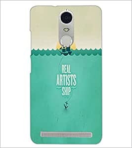PrintDhaba Quote D-2998 Back Case Cover for LENOVO K5 NOTE (Multi-Coloured)