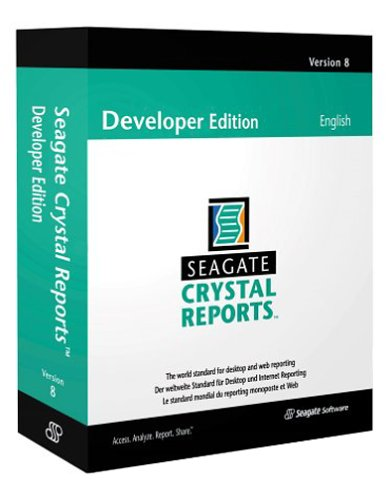 Seagate Crystal Reports 8 Professional Upgrade Spanish