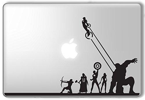 Avengers Superheroes Marvel - Apple Macbook Laptop Vinyl Sticker Decal (Marvel Decal compare prices)
