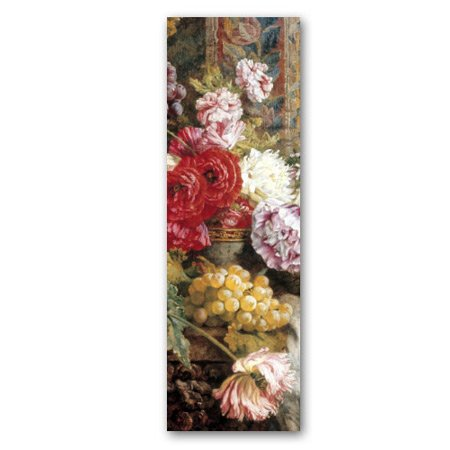 Poppies and Grapes - Double-sided Bookmark