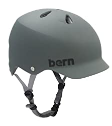 Bern Watts Summer Matte EPS Helmet by Bern