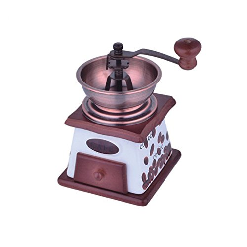 Manual Coffee Grinder, Hand-Crank Coffee Mill Coffee Maker