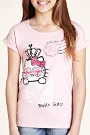 Pure Cotton Hello Kitty London Jubilee T-Shirt [T74-0680C-S]