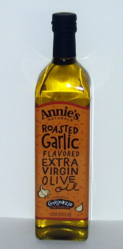 Annie's Naturals Roasted Garlic Flavored Extra Virgin Olive Oil - 33.8 Oz by Annie's Naturals