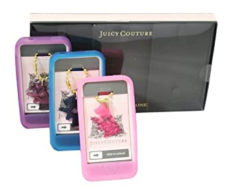 Juicy Couture smartphone 4 Soft Cases Scottie Dog Bling Set of 3
