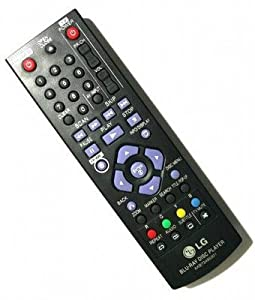 LG Remote Control for BLU RAY Player 255LG