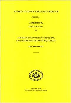 annales academiae scientiarum fennicae mathematica dissertationes Annales academiae scientiarum fennicae mathematica 43:1 ed  annales academiae scientiarum fennicae mathematica dissertationes 161 helsinki 2017,.
