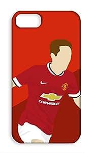 Apple iPhone 4 Manchester United Football Club Design Back Cover - Printed Designer Cover - Hard Case - AP4CMBMUFC0139