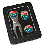 Asbri Golf Spirit Pitchfork & Cap Clip & Ballmarker in Tin Golf Gift Pack - South Africa