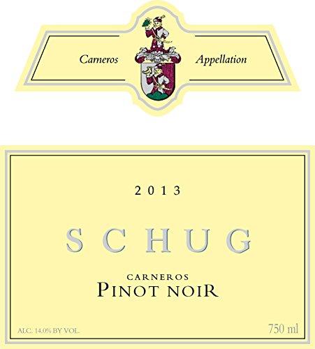 2013 Schug Carneros Pinot Noir 750 Ml