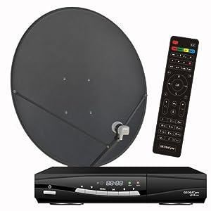 Amazon.com: FTA Complete Glorystar Satellite One Room HD