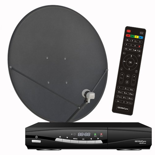 FTA Complete Glorystar Satellite One Room HD DVR - Free to Air Television