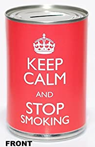 Stop Smoking Start Saving Fund - Savings Tin - (STD) by PIP Solutions UK
