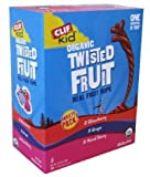 Clif Kid Organic Fruit Rope, 0.7-oz Bars, Variety Pack, 2 x 24 ct [4A3R9X18]