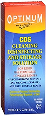 Optimum CDS Cleaning, Disinfecting and Storage Solution 4 oz