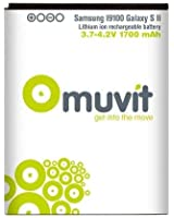 Muvit MUBAT0014 Batterie pour Samsung Galaxy S2 1700 mAh