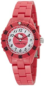 Hello Kitty Women's H3WL1004RD Red Dial Watch