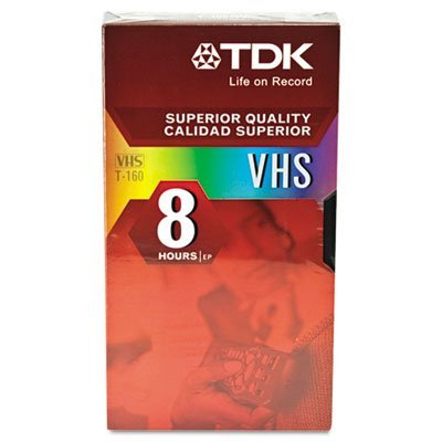 Cheapest Price! TDK Systems T-160 Revue Premium Quality 8 Hour Video Tape ( T-160RVAXBH-S )