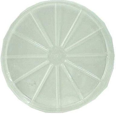 15 each: Perky Pet Clear Vinyl Saucer (VS17-17