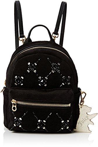 juicy-couture-embellished-gem-mini-portes-dos-femme-noir-black-pitch-black-one-size