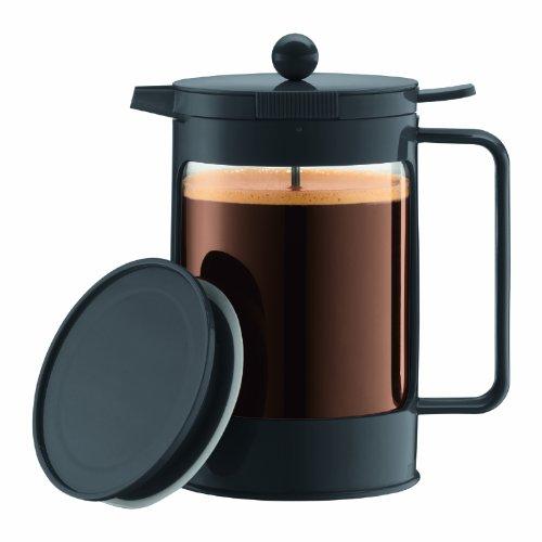 Bodum Bean Ice French Press 1-1/2 Litre Iced Coffeemaker, 51-Ounce (Black)