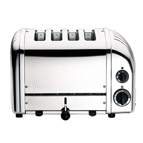 DUALIT 4 Slice NewGen Toaster Polished Stainless Steel 40378
