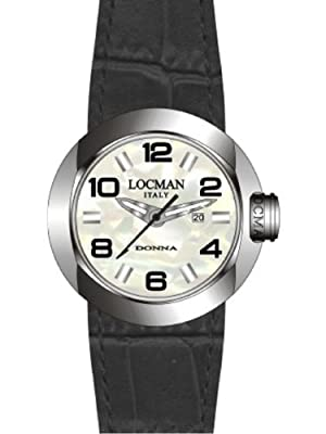 Locman Women's One Donna Watch 042100MWNBK0PSK-W-PS