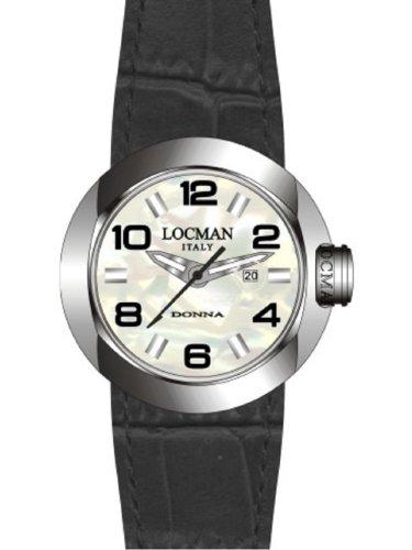 Locman Women's One Donna Watch 042100MWNBK0PSK-W-PS