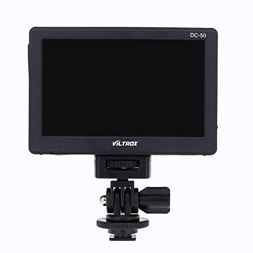 "Andoer Viltrox DC-50 HD Clip-on LCD 5 ""'Monitor tragbar Wide View für Canon Nikon Sony DSLR Kamera DV"