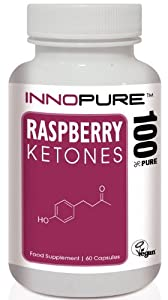 Raspberry Ketones Diet Pills | Pure Ketone Extract High Strength 600mg / Daily Dose | 1 Month Supply | INTRO OFFER