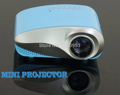 newest 200lumens 3d beamer led electric projektor portable video pico micro proyector mini. Black Bedroom Furniture Sets. Home Design Ideas
