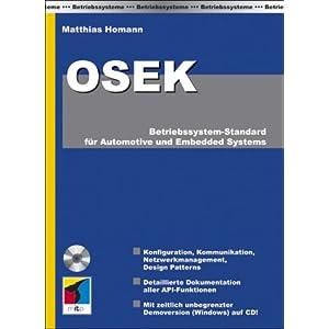 eBook Cover für  OSEK Betriebssystem Standard f uuml r Automotive und Embedded Systems