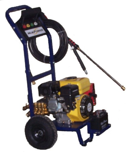 3000 Psi 3.0 Gpm Electric Start Pressure Washer Powered By 7 Hp Morpower Ohv Engine
