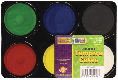 Chenille Kraft Temper Cakes 6 Assorted Colors - 1