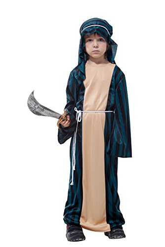 Ace Halloween Children's Kids Boys Cute Arabian King Prince Costumes