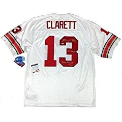 Maurice Clarett Autographed Jersey - & Inscribed Psa dna