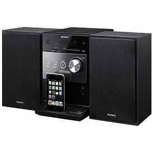 Sony CMT-FX300I.CEL Microchaîne CD mp3 10 W Port USB + Station d'accueil pour iPod Noir