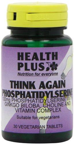 Health Plus Think Again Phosphatidylserine 100mg Memory Health Supplement - 30 Tablets