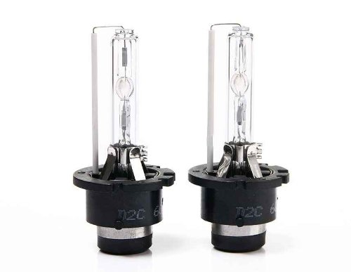 2Pcs Car 4300K D2S / D2C White Light Hid Xenon Lamp Bulb (White)