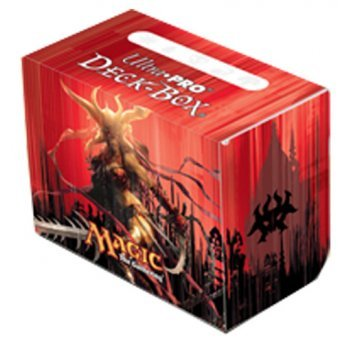 Deck Box - Ultra Pro - Magic - Side Loader - Dragon's Maze - Exava, Rakdos Blood Witch