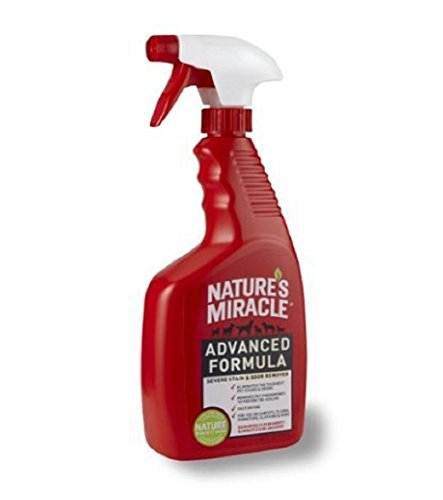 Nature's Miracle Advanced 24-Ounce Spray, Stain & Odor Remover, New!!! (Knockout Spray compare prices)