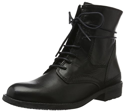 Tamaris 25111, Stivali Chukka Donna, Nero (Black Leather 003), 39 EU