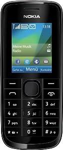 Nokia 113 Handy (4,6 cm (1,8 Zoll), 0,3 Megapixel Kamera, Bluetooth) schwarz