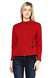 Wine Knit Jacket-Large