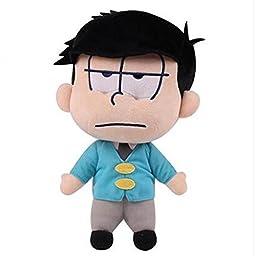 Osomatsu-san Figure Cosplay Plush Stuffed Doll Toy for Japanese Anime (Blue-2)