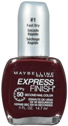 Maybelline New York Express Finish 50 Second Nail Color, Mocha Blast 290, 0.5 Fluid Ounce (Maybelline Quick Dry Nail Polish compare prices)