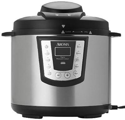 Aroma APC-990 6-Quart Digital Electric Pressure Cooker from Aroma Housewares