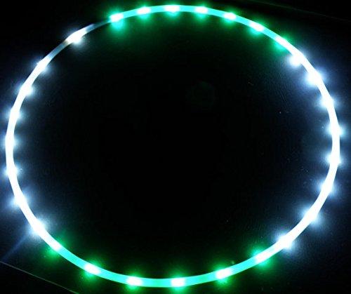 "Purchase 40"" 101cm 2-piece Spanish Moon – LED Hula Hoop By Colorado Hula Hoops Popular"