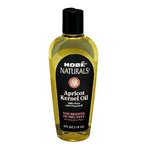 Hobe Naturals Apricot Kernel Oil, 4 Fluid Ounce